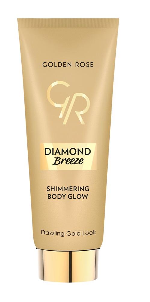 Мерцающий флюид для тела DIAMOND BREEZE SHIMMERING тон 01 флюид для тела golden rose diamond breeze shimmering мерцающий тон 02 90 г