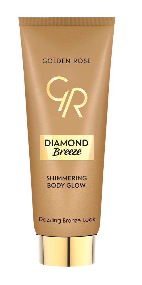 Мерцающий флюид для тела DIAMOND BREEZE SHIMMERING тон 02 флюид для тела golden rose diamond breeze shimmering мерцающий тон 02 90 г