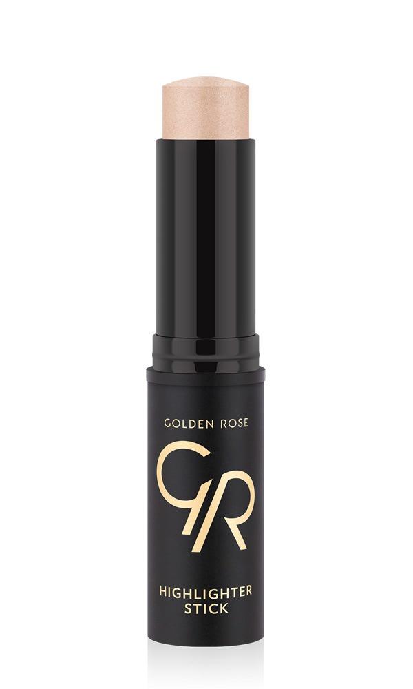 Хайлайтер стик Golden Rose с эффектом мгновенного сияния тон 01, 25 г