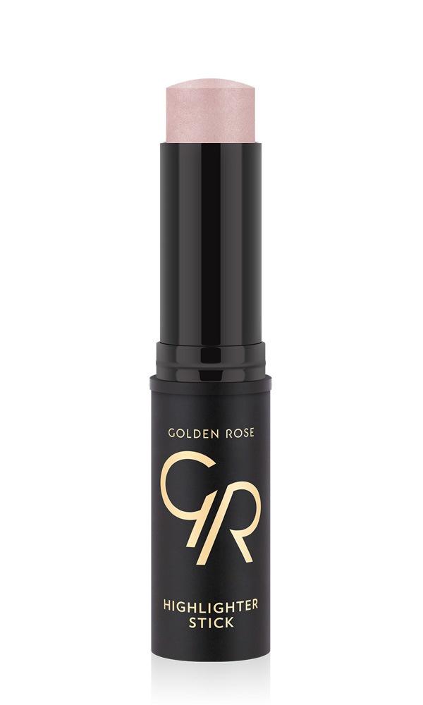 Хайлайтер стик Golden Rose с эффектом мгновенного сияния тон 02, 25 г
