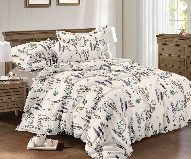 Комплект постельного белья Seta Azalea Satin Lelit 019133299, евро, наволочки 50x50 см