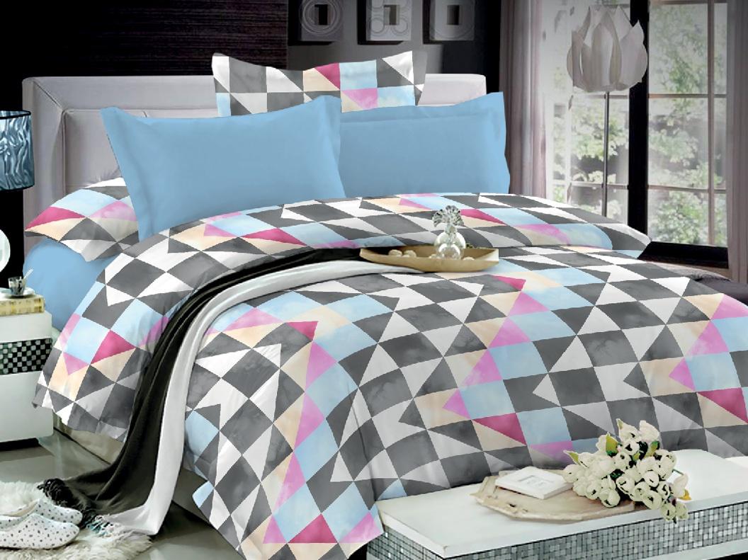 цена Комплект постельного белья Seta Azalea Satin Medore 013432287, евро, наволочки 70x70 см онлайн в 2017 году