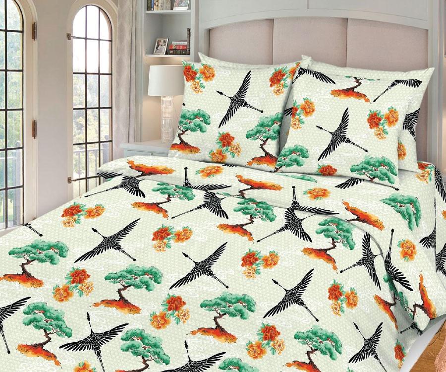 цена Комплект постельного белья Seta Azalea Shiomi 019032313, евро, наволочки 70x70 см онлайн в 2017 году
