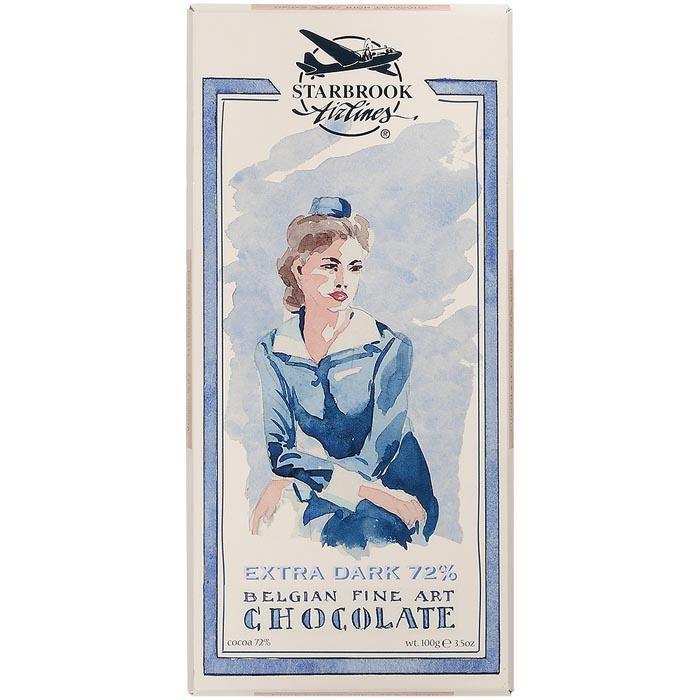 Шоколад Starbrook Airlines Горький шоколад, 100 гр цена