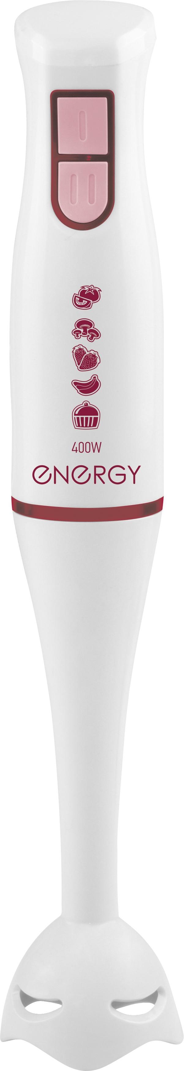 Блендер Energy EN-132 54 004648 погружной, белый блендер погружной добрыня do 2303