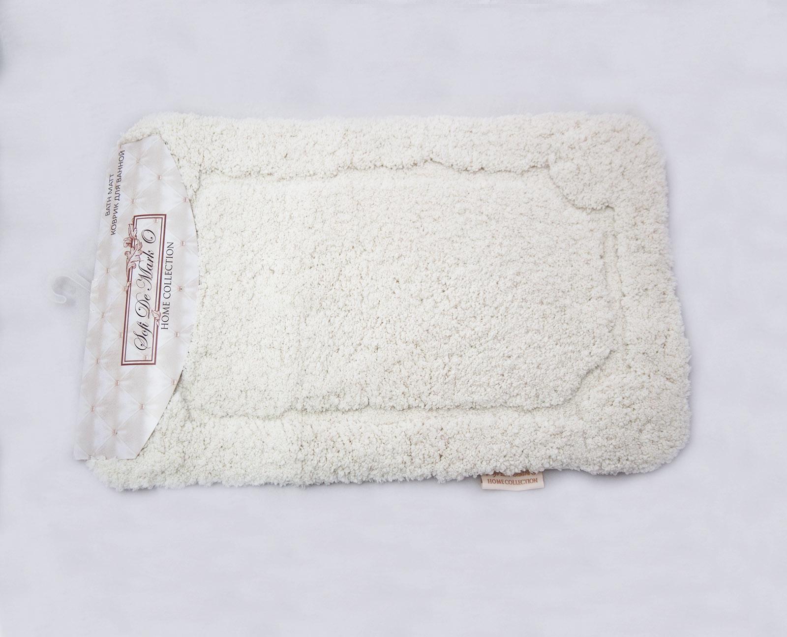 Коврик для ванной Sofi de Marko, К-Э-мол-50х80, молочный, 50х80 см