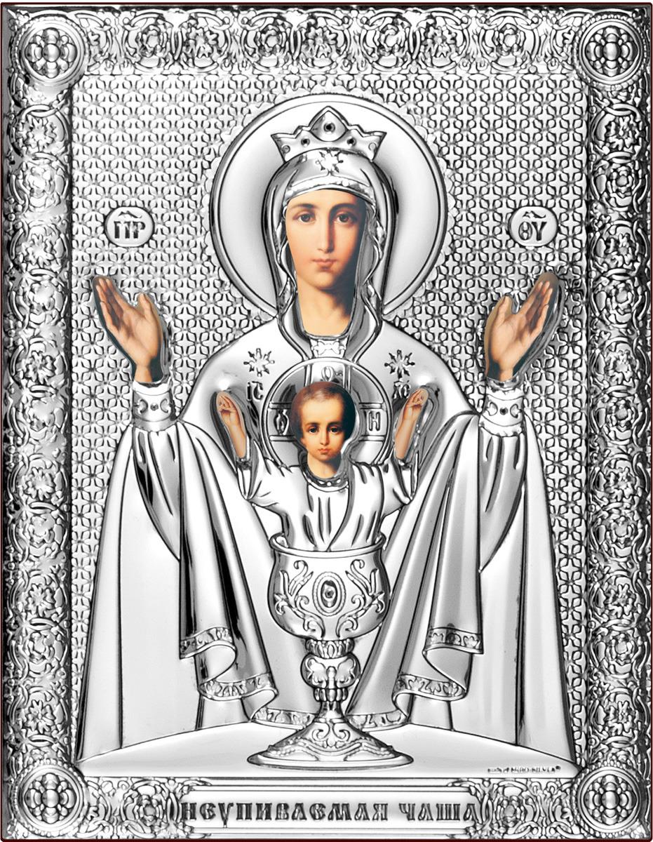 "Икона Beltrami ""Неупиваемая Чаша Богородица"", 6509/P, 14 х 18 см"