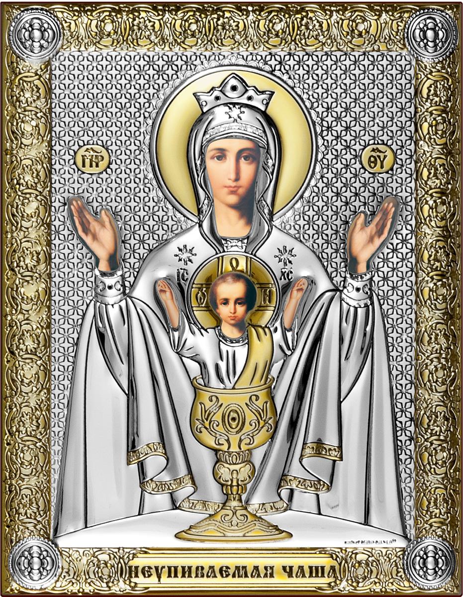 Икона Beltrami Неупиваемая Чаша Богородица, 6509/OP, 14 х 18 см икона споручница грешных фото и значение