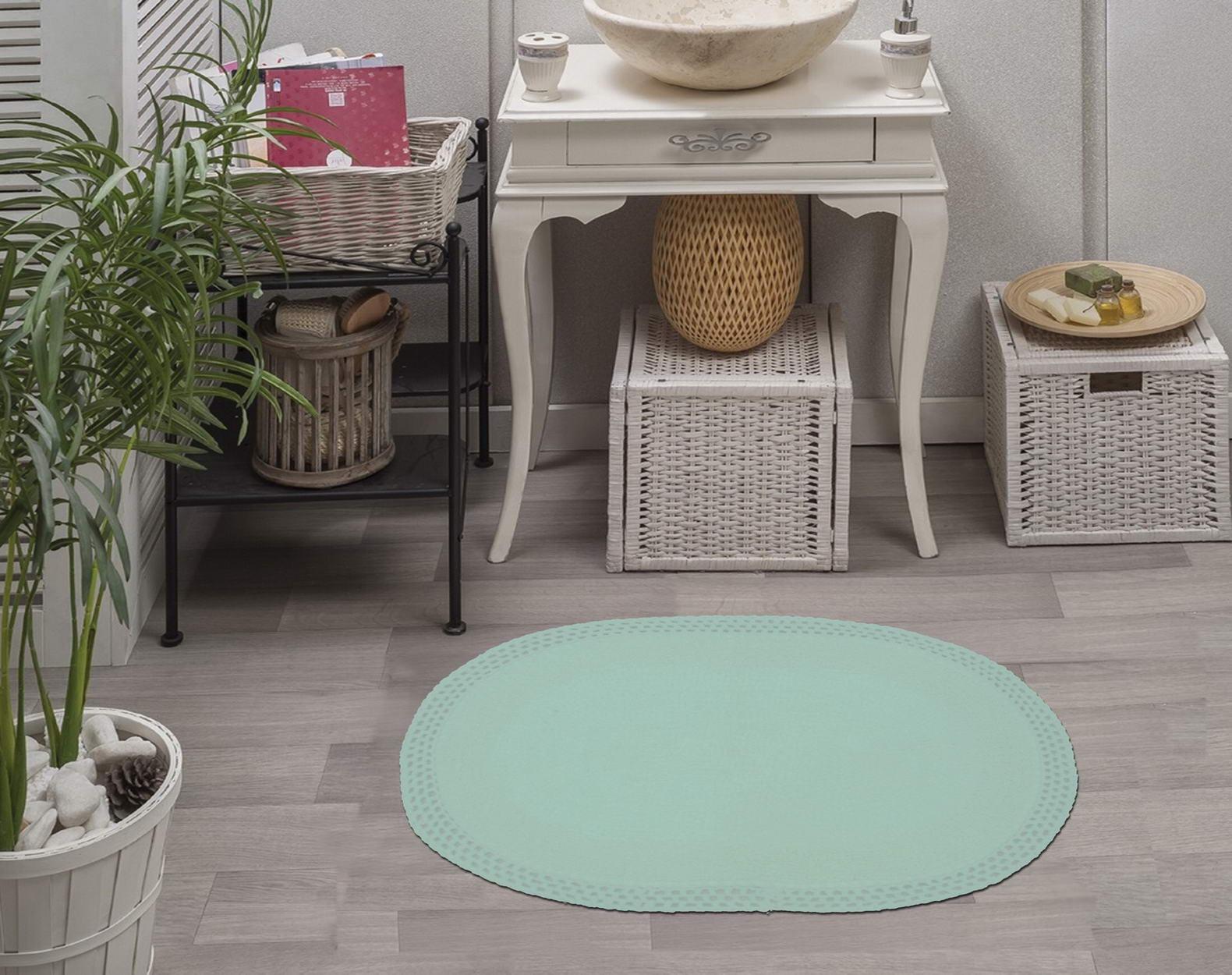 Набор ковриков для ванной кружевной 60х100 и 50х70