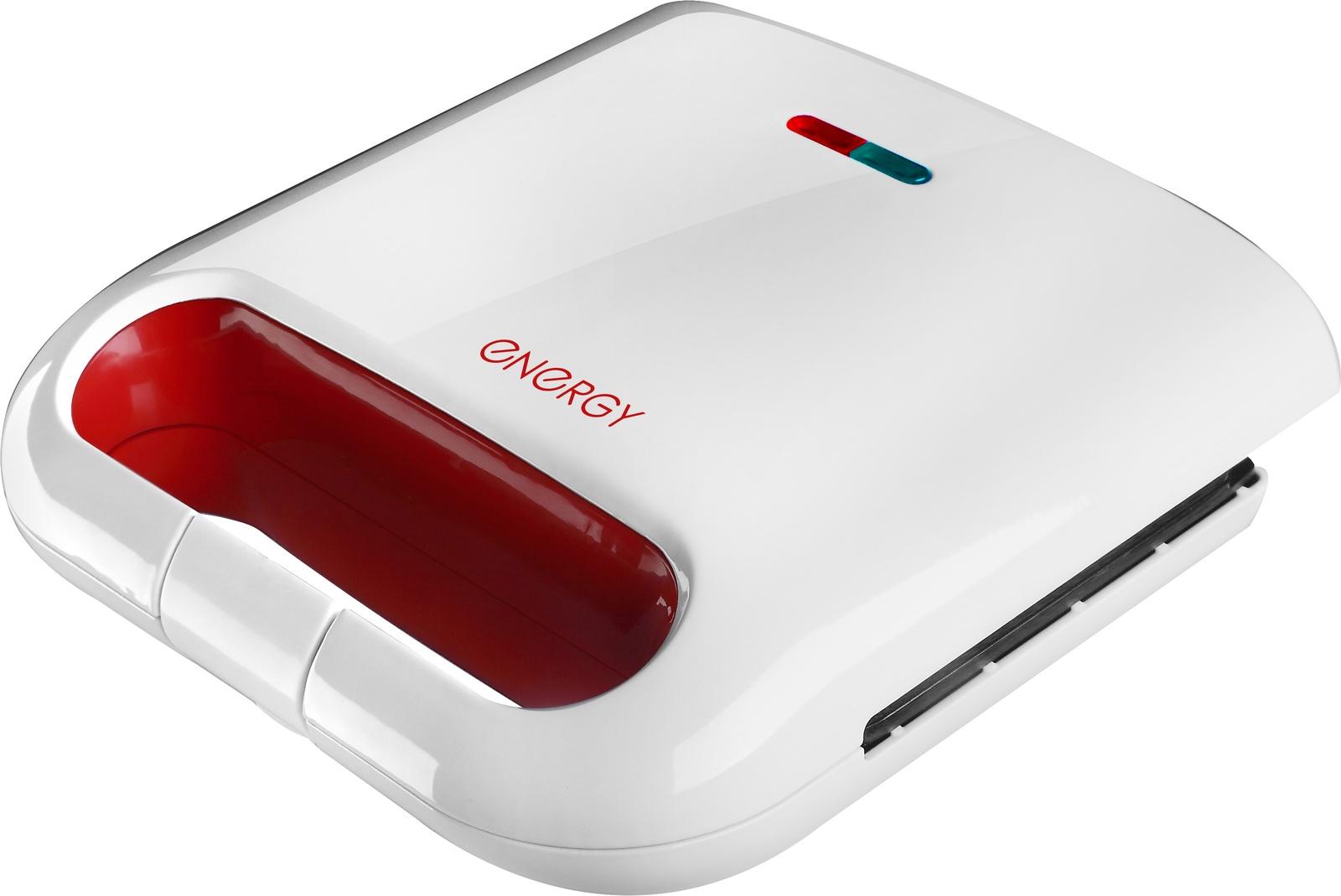 Сэндвич-тостер ENERGY EN-281, 54 152477, бело-красный