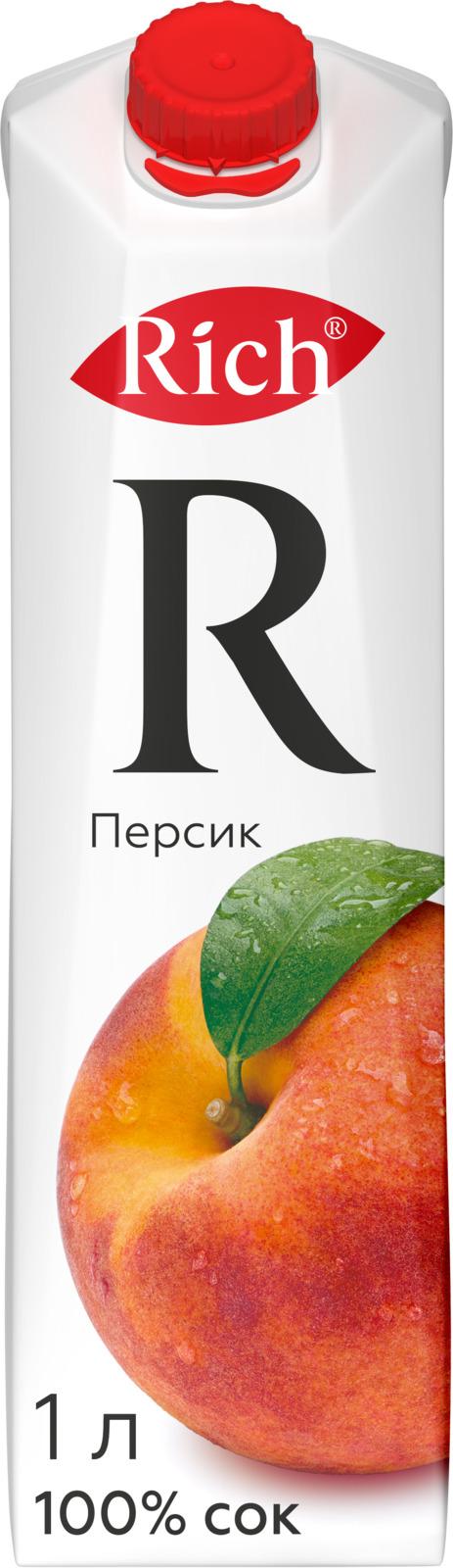Rich Персиковый нектар, 1 л