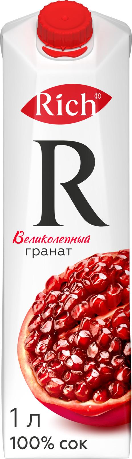 Rich Гранатовый сок, 1 л