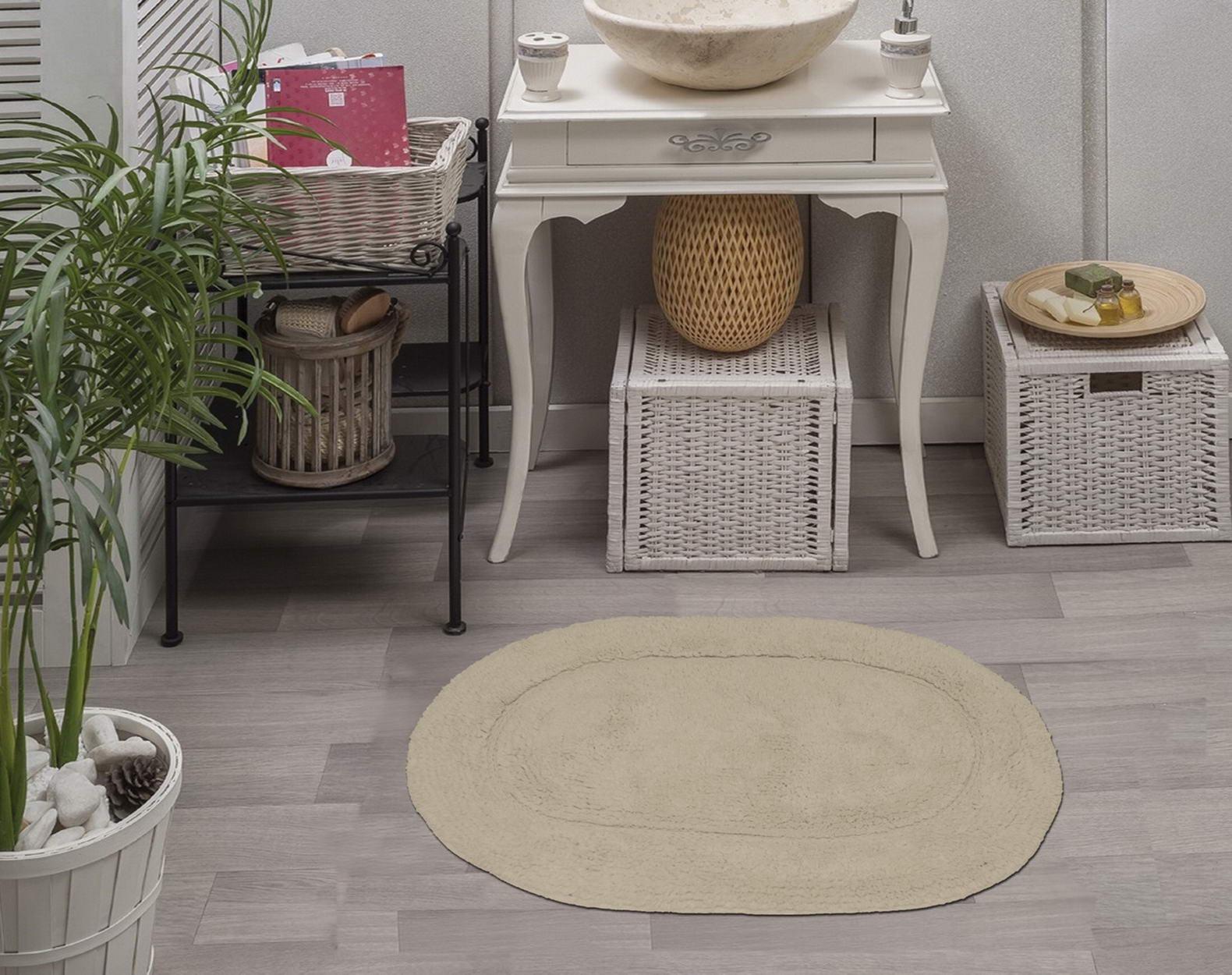 Набор ковриков для ванной Sofi de Marko, S.090, стоун, 2 шт