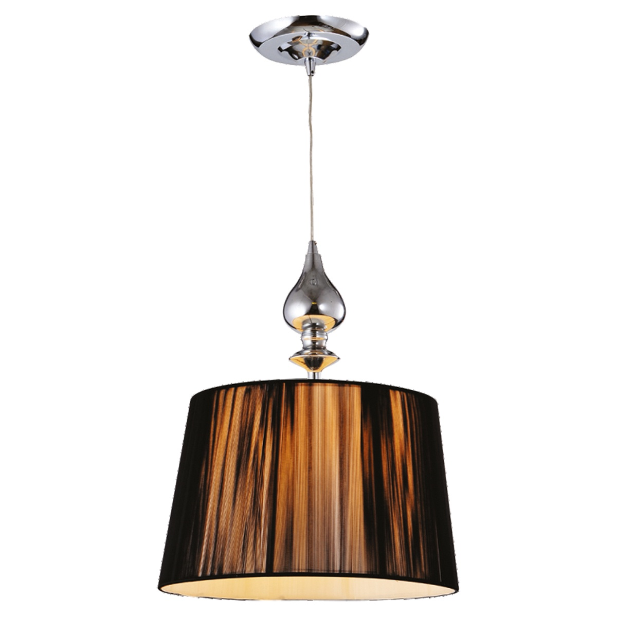 Подвесной светильник Collezioni Black, E27, 1x60Вт Вт цены онлайн