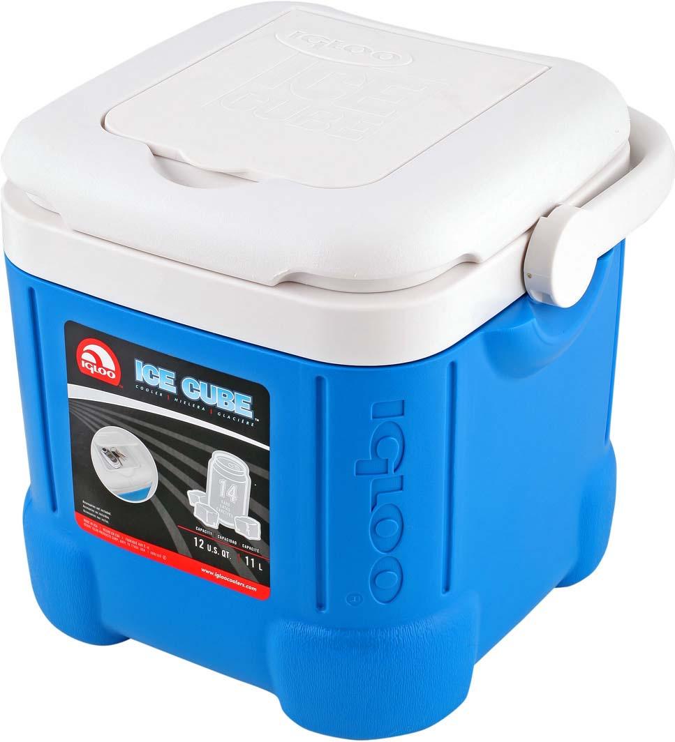Контейнер изотермический пластиковый Igloo Ice Cube 14, 43058, синий43058Универсальный изотермический контейнер малого размера изготовлен из ударостойкого пластика, обладает малым весом, вместительной камерой, простой конструкцией и удобными функциональными особенностями. Удобен для индивидуального применения при транспортировке охлажденных продуктов питания или напитков в дороге или в качестве ланч-бокса для офиса.