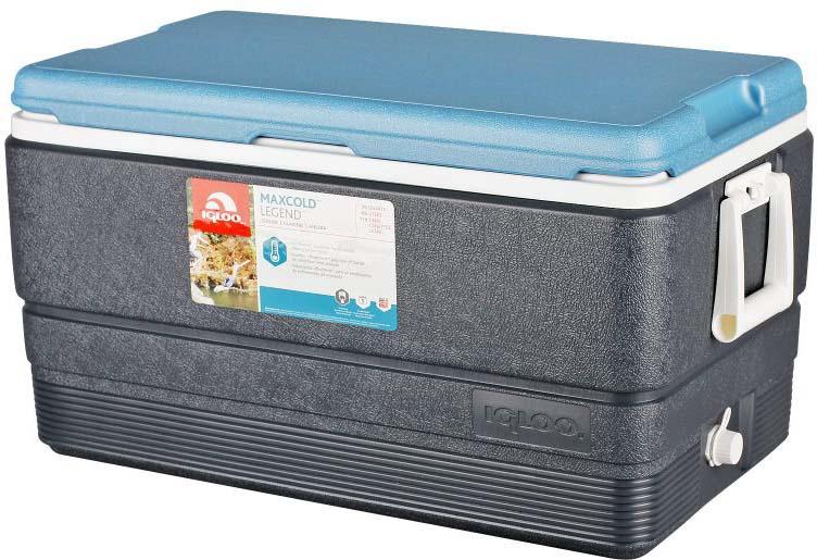 Контейнер изотермический пластиковый Igloo MaxCold Legend 70, 49494, темно-синий
