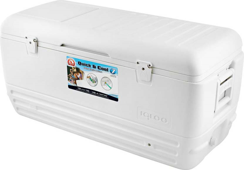 Контейнер изотермический пластиковый Igloo Quick&Cool 150, 44363, белый