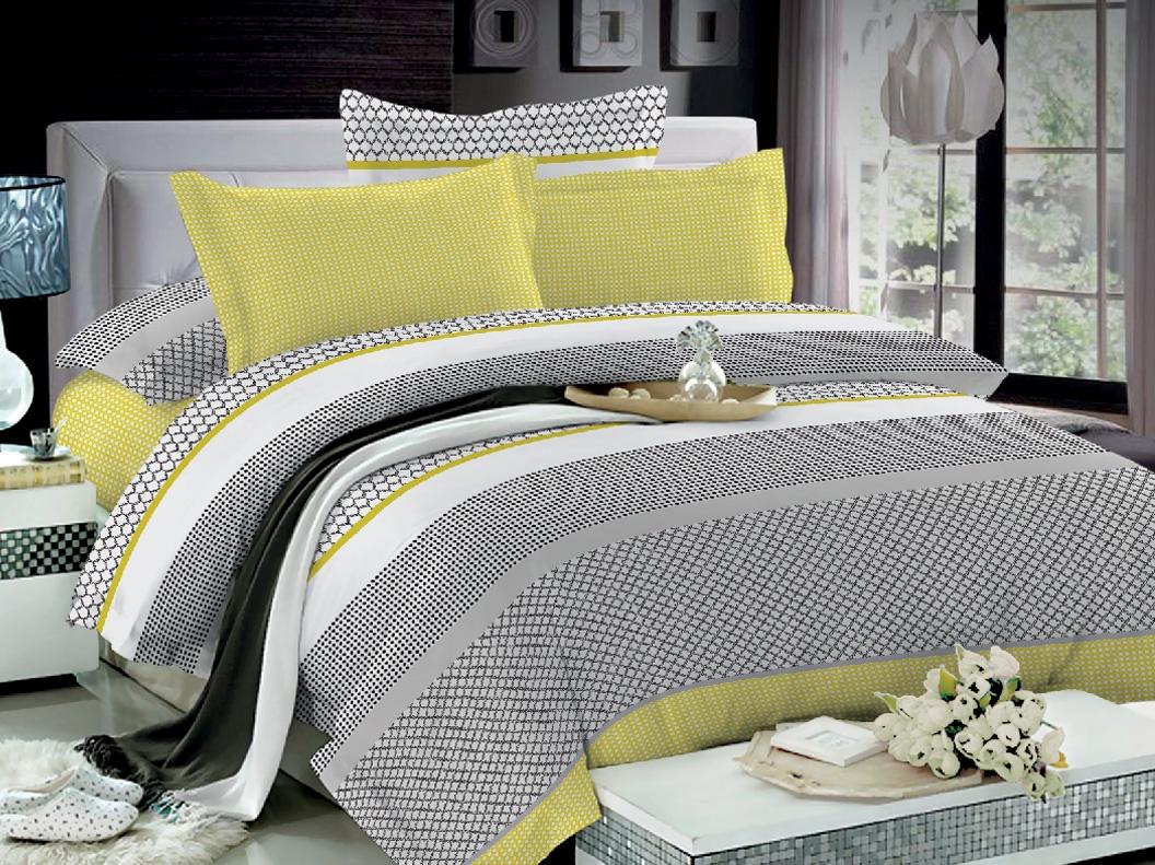 цена на Комплект постельного белья Seta Azalea Satin Chiaro Семейный, 019141282, разноцветный, наволочки 70 x 70 см
