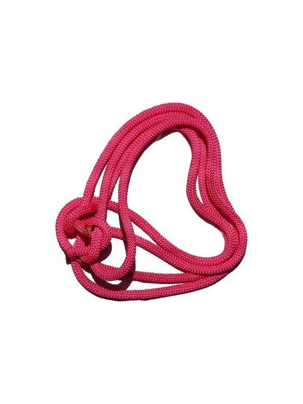 Скакалка гимнастическая Chersa, утяжеленная, 271, розовый, 2,5 м271_розовыйСкакалка гимнастическая утяжеленная из текстильного шнура. Без ручек, вместо них концы скакалки завязаны на узлы. Диаметр 7мм. Длина 2.5 метра.