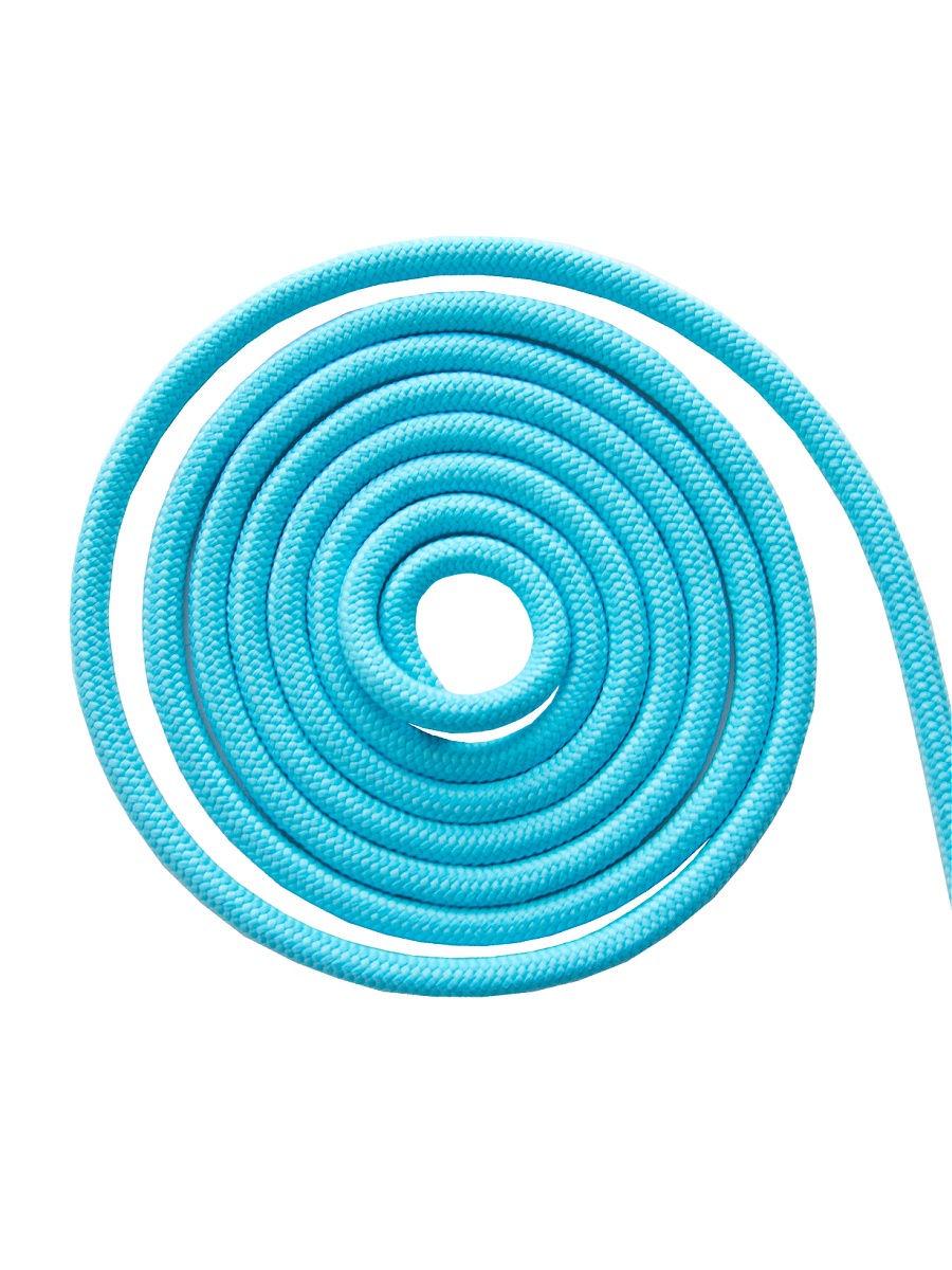 Скакалка гимнастическая Chersa, утяжеленная, 271, голубой, 2,5 м