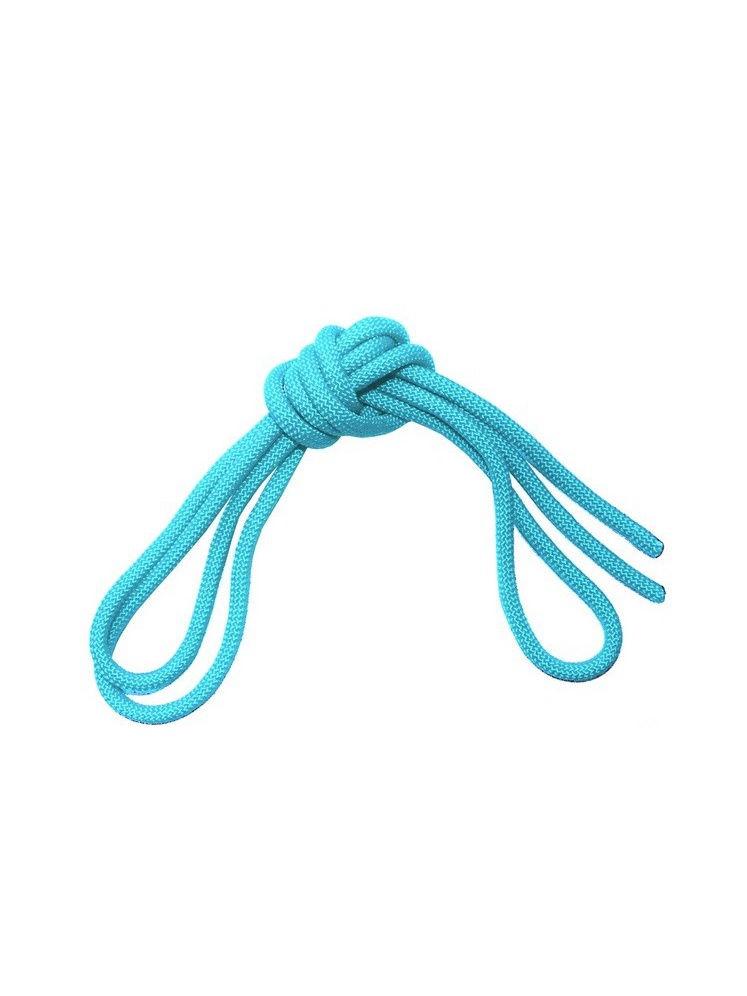 Скакалка гимнастическая Chersa, утяжеленная, с люрексом, 273, мятный, 2,5 м273_мятныйСкакалка гимнастическая утяжеленная из текстильного шнура. Без ручек, вместо них концы скакалки завязаны на узлы. Диаметр 7мм. Длина 2.5 метра.