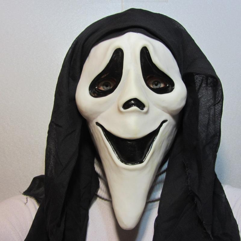 Маска карнавальная Филькина грамота Крик. Улыбка, латексная, MS0000043 карнавальная маски