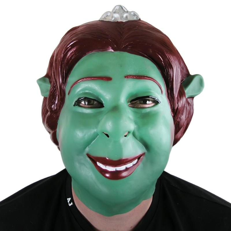 Фото - Маска карнавальная Филькина грамота Фиона, латексная, MS0000039 видео