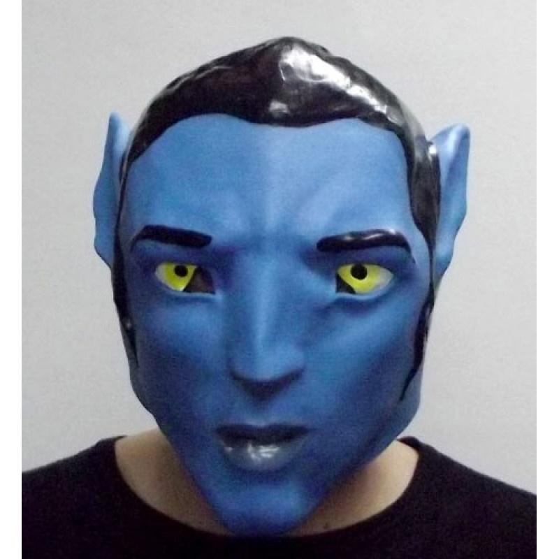 Маска карнавальная Филькина грамота Аватар, латексная, MS0000041 карнавальная маски
