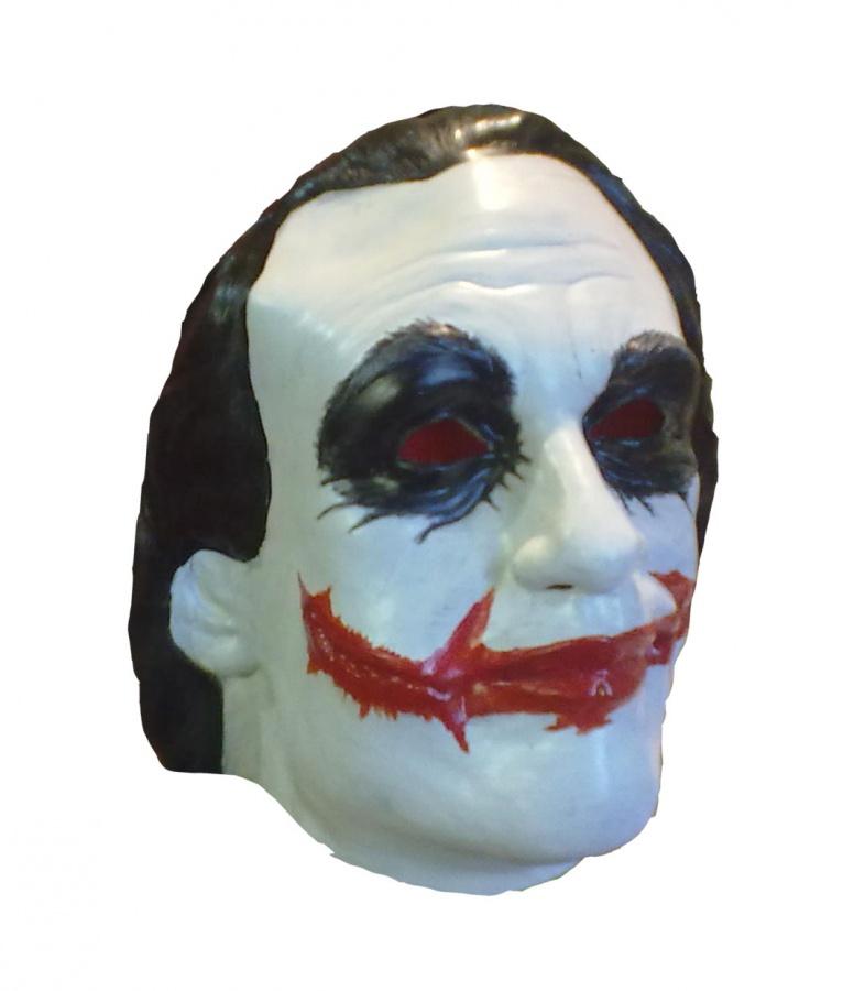 Маска карнавальная Филькина грамота Джокер, латексная, MS0000073326-MS0000073С нами перевоплотиться в сказочного героя, мультипликационного персонажа или стать настоящим монстром просто! Наши маски подходят на любую тематическую вечеринку. Также можно использовать в спектаклях или снимать видео.