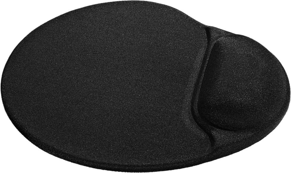 Коврик для компьютерной мыши Defender Easy Work, 50905, черный, 26х22.5 см коврик defender easy work grey 50915