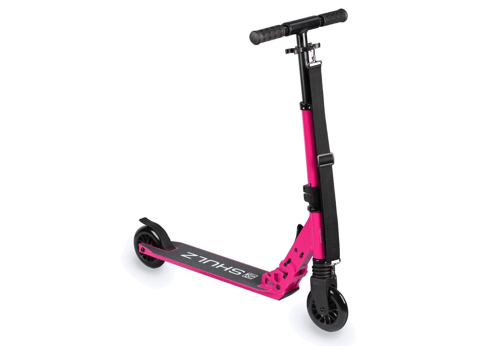 Самокат Shulz 120 2000008310987, розовый, 3,4 кг цена