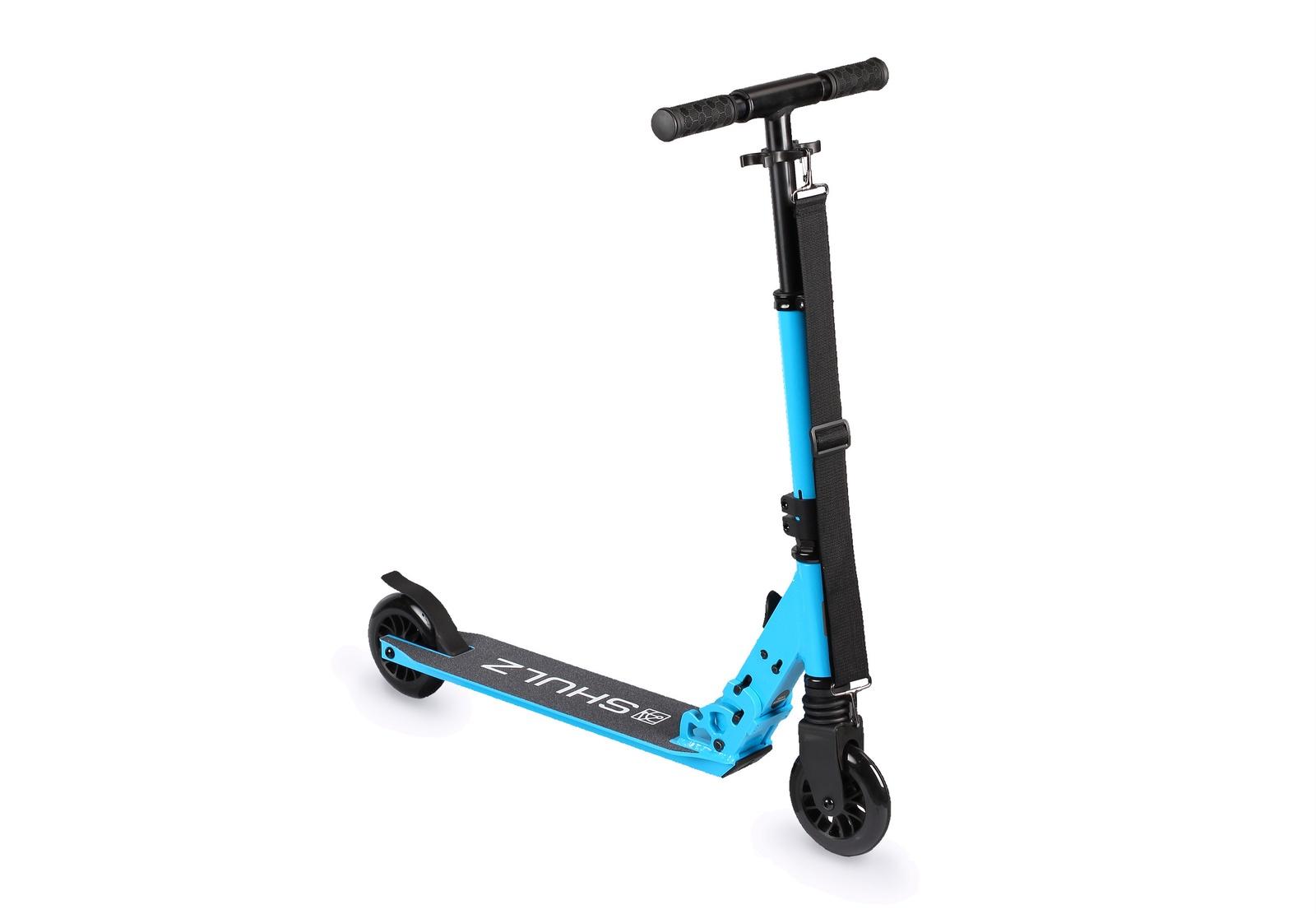 Самокат Shulz 120 2000008306669, голубой, 3,4 кг цена