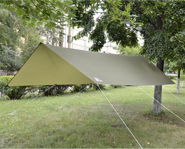 Тент Сплав, 5054998, зеленый, коричневый, черный, 3 х 4,5 м