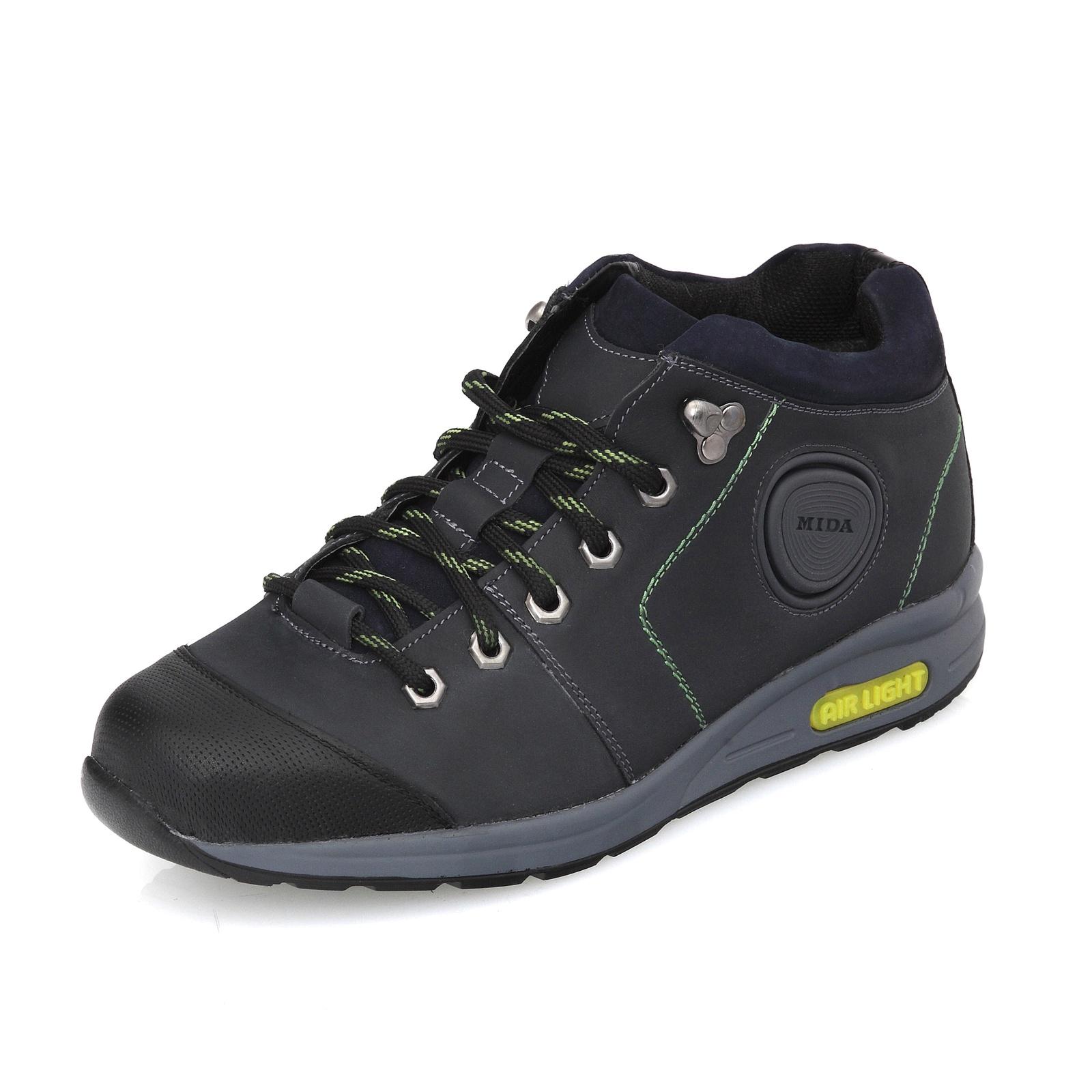 Ботинки Mida мужские кожаные кроссовки зимние