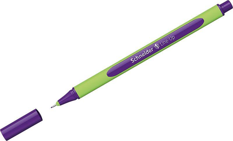 Ручка капиллярная Schneider Line-Up, 0,4 мм, цвет корпуса: салатовый, цвет чернил: фиалковый, 10 шт