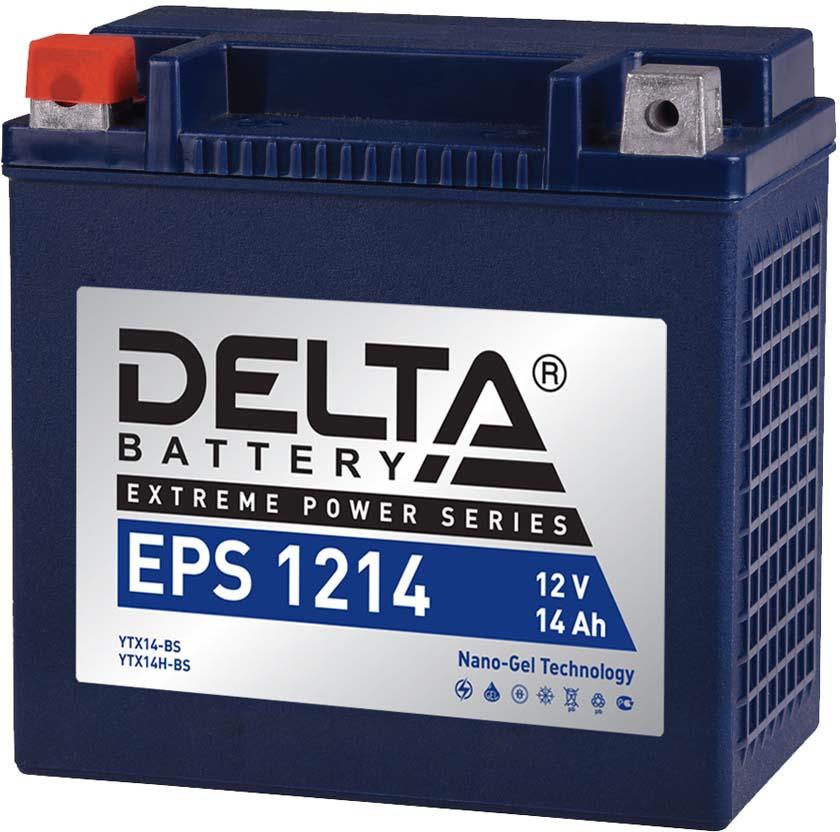 Аккумулятор для мототехники Delta EPS 1214 цена