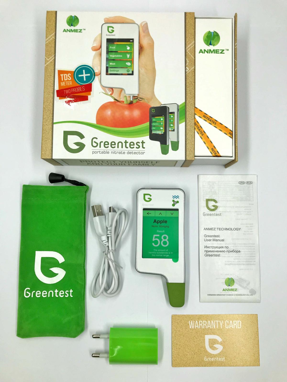 Нитрат-тестер Greentest 3, KIT FB0133, белый Greentest