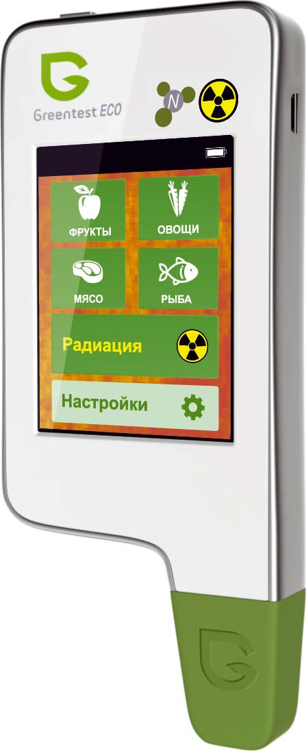 Нитрат-тестер Greentest Eco 4, KIT FB0134, белый