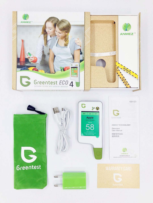 Нитрат-тестер Greentest Eco 4, KIT FB0134, белый Greentest