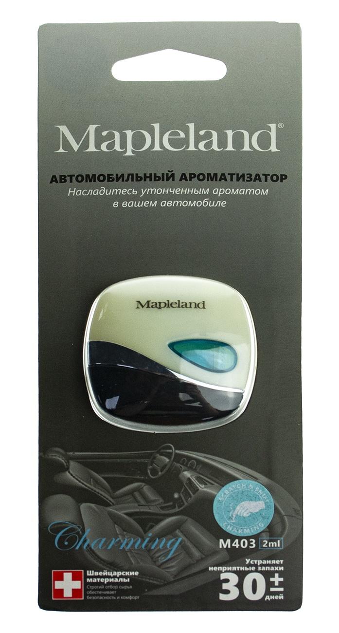 Ароматизатор для автомобиля Mapleland M403 Charming PA0428 ароматизатор для шкафа с одеждой