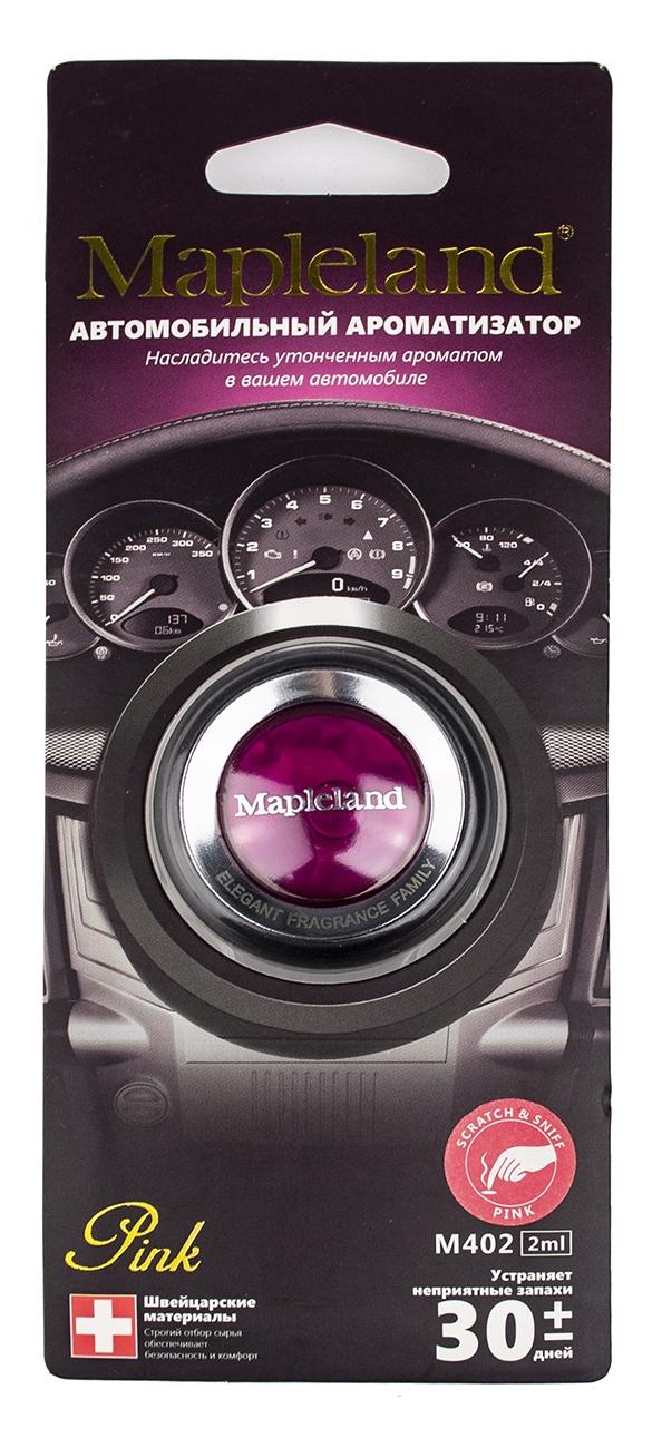 Ароматизатор для автомобиля Mapleland M402 Pink PA0430 ароматизатор для шкафа с одеждой
