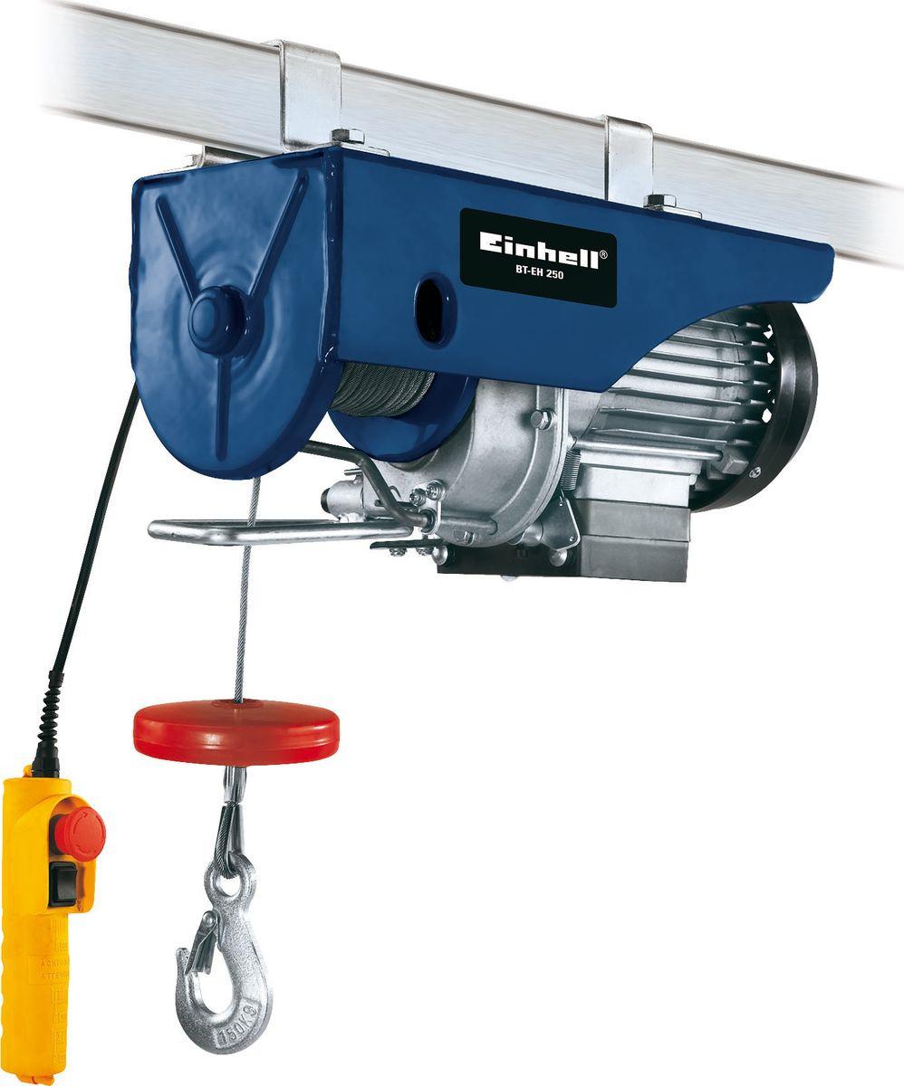 Тельфер Einhell Classic BT-EH 250, синий, электрический, 500Вт, 250/150 кг цены