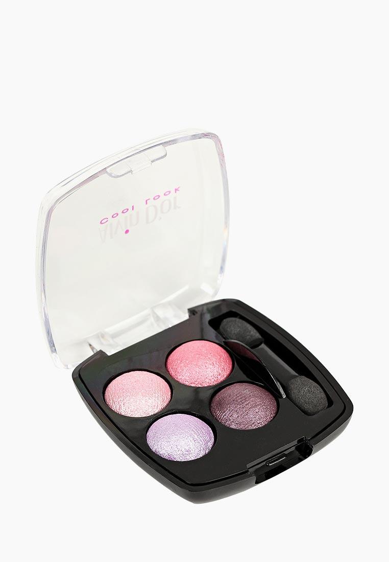 Тени для век Alvin Dor четырехцветные, тон 03 розовые грезы средство для укрепления ногтей alvin d or alvin d or al057lwboiw7