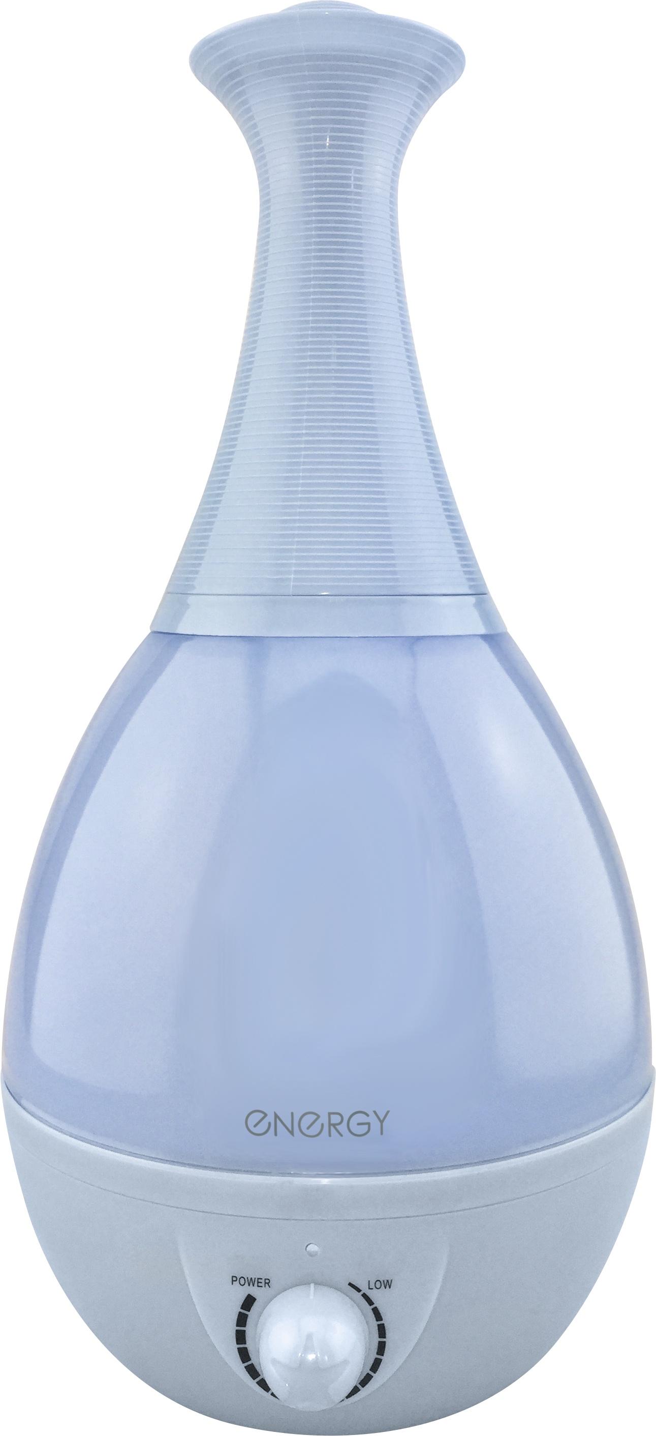 Увлажнитель воздуха EN-616 ENERGY (объём 2.6л, макс. распыление 250мл/час) голубой