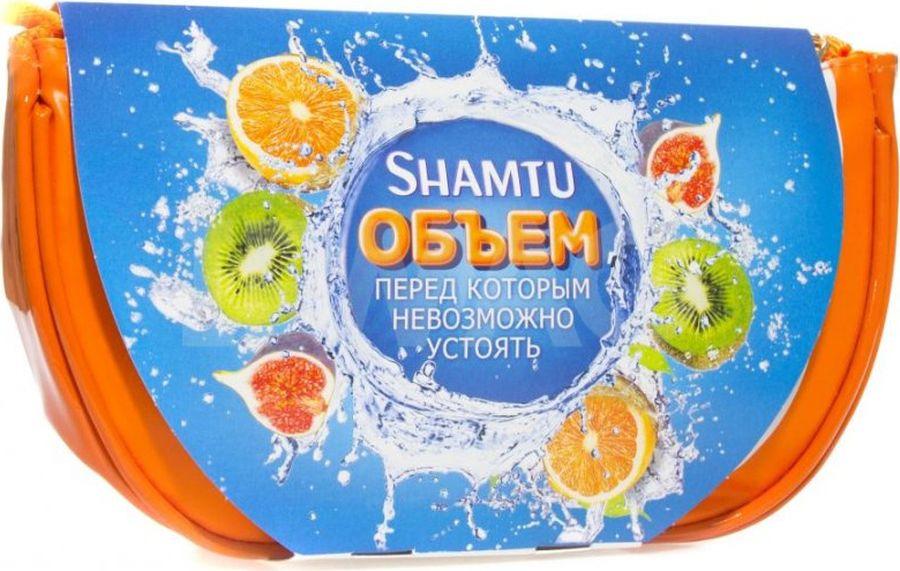 Набор подарочный Shamtu Питание и сила, экстракт фруктов: шампунь 360 мл, бальзам, 200 мл shamtu шампунь 100