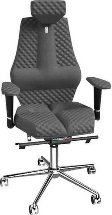 Компьютерное кресло Kulik System Nano, цвет: серый. 1606 азур и азмар