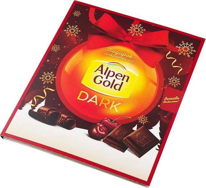 Темный шоколад Alpen Gold Промо, 170 г alpen gold шоколад с печеньем oreo 95 г