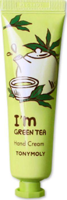 Крем для рук Tony Moly I'm Green Tea Hand Cream, 30 мл цены