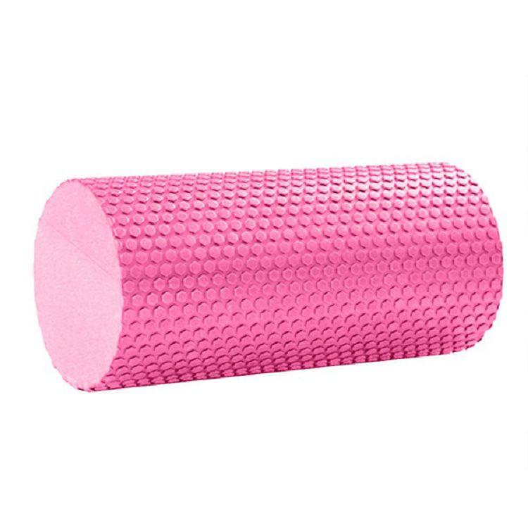 Ролик массажный Hawk C28842-2 Ролик для йоги 30x15cm (розовый) материал ЭВА