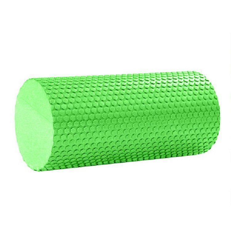 Ролик массажный Hawk Ролик для йоги 30x15cm (зеленый) материал ЭВА Hawk